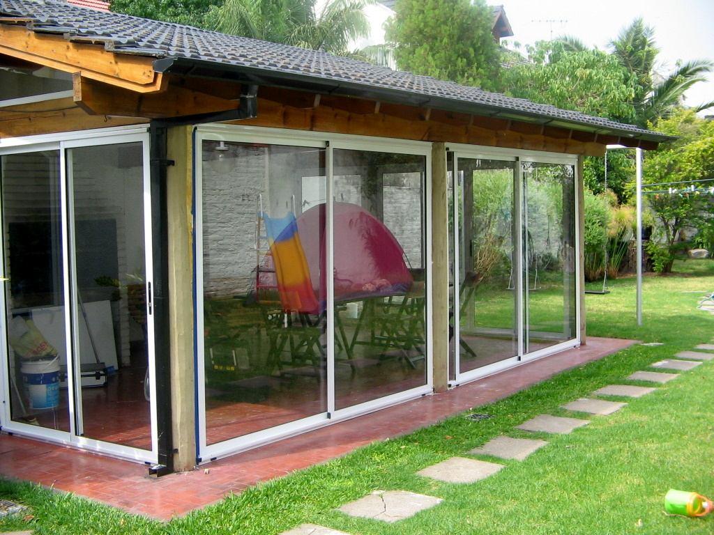 Cerramientos en aluminio quinchos balcones galerias for Cerramientos aluminio precios