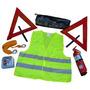 Kit Reglamentario De Emergencia Para Automotor 7 En 1