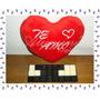 Regalo Mensaje Bombones Te Amo Corazon Peluche San Valentin