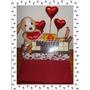 Regalo Caja Dulce San Valentin Con Peluche Corazon Te Amo