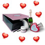 Caja San Valentin Champagne Chandon + Body Paint + Gel Sabor