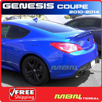Hyundai Génesis Coupe Alerón Trasero En Abs Años 2009/14