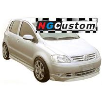 Faldon Volkswagen Suran 03-15 Flexline - Zocalo Por Juego