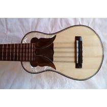 Charango Profesional De Madera De Luthier Caja Grande
