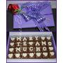 San Valentín, Ideal Dia De Los Enamorados, Bombones Rellenos