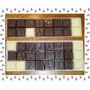 Regalo Mensaje De Amor En Chocolate Bombones En Caja. Novios