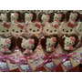 Chupetines De Chocolate De Hello Kitty 10 X