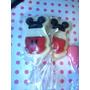 Mickey Chupetines Paletas De Choco Candy Bar, Mesa Dulce