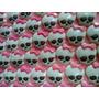 Calaveras Monster High Chocolates Para Souvenir Cupcakes