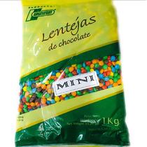 1k Mini Lentejas Chocolate -similar Rocklets- La Golosineria