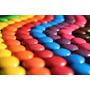 Lentejas De Chocolate Colores Individuales X 1 Kg.