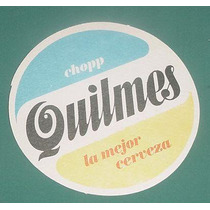 Antiguos Posavasos Cerveza Cerveceria Quilmes X 12 Impecable