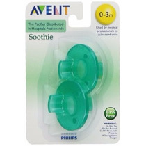 Chupetes Philips Avent Pack X2unid Soothie Pacifier V.crespo