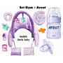 Almohada Amamantar+set Gym+mamadera Y Chupete Avent¡¡¡¡
