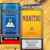 Tabaco Para Armar Manitou Natural Sin Aditivos Aleman
