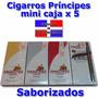 Cigarros Principes Mini Caja X 5-choco-cherry-vainilla-natur
