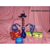 Narguile+regalos(tabaco+carbón+pinza) $600!!! Insumos Arabes