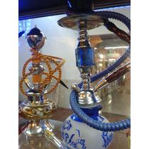 Pipa Árabe Simple Y Doble Manguera