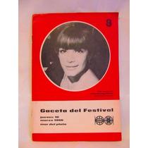 Gaceta Del Festival Cinematografico Internacional 1966