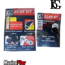 Kit Limpieza Clarinete Bg Dkc21 Musicapilar