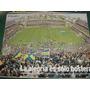 Poster Original Futbol Boca Juniors Real Madrid Bombonera