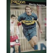 Poster Original Futbol Boca Juniors Martin Palermo Soccer