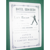 Cordoba Clipping Hotel Brochero Luis Bazan Cura Brochero