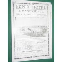 Cordoba Clipping Fenix Hotel Mantone & Cia Mina Clavero