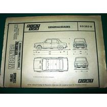 Clipping Mecanica Automoviles Fiat 128 Despiece 90 Pgs Autos