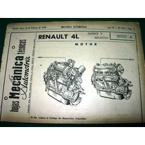 Clipping Mecanica Automoviles Renault 4 Despiece 80 Pg Autos