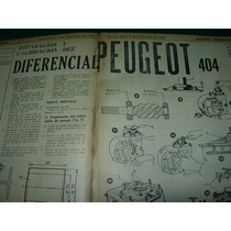Clipping Mecanica Automoviles 2p Diferencial Peugeot 404