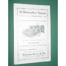 Publicidad Motocultor Somua Schneider Watinne Bossut Modelo3