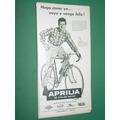 Publicidad Bicicletas Aprilia De Cycles Motor Argentina