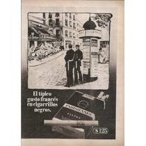 Publicidad Cigarrillos Parisiennes Filtre (035)