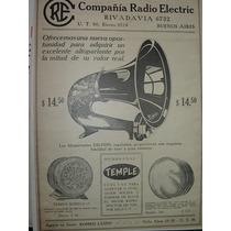 Clipping Antiguo Publicidad Radio Radios Parlante Delphin