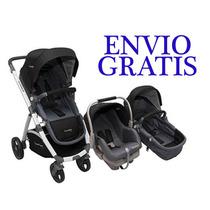 Cochecito Premium Baby+huevito+base+moises Modern Babymovil