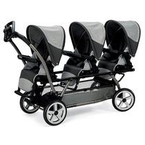 Coche De Paseo Bebe Trillizos Triplette Peg Perego Babymovil