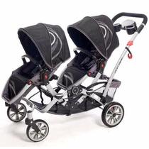 Cochecito Mellizo Infanti H813 C/asientos Desmontables