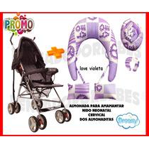 Almohada P/amamantar Grande C/funda+nido+cervical+2almohadas