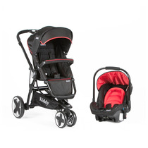 Cochecito Compass Kiddy Ultraliviano Travel System Aluminio