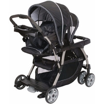 Cochecito Mellizos Graco Ready2grow Hermanitos Tiendamibebe