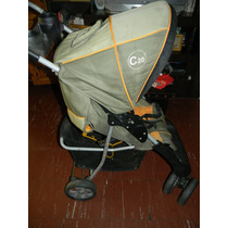 Cochecito Kiddy Con Huevito Butaca Para Auto Travel Sistem