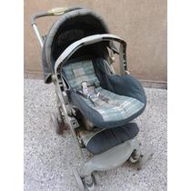 Coche Cuna Infanti + Huevito -silla Para Auto-
