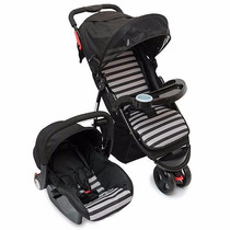 Coche Jogger Travel System Love Art 278 Huevito Y Cubrepies