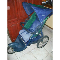 Coche Cuna Plegable-kiddy-ruedas C/rayos Y Freno-exc.est.