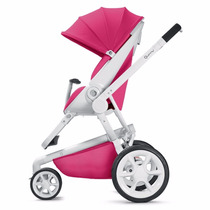 Cochecito Quinny Moodd Pink +huevito +base Isofix Punto Bebé