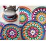 Posapavas Y Agarradera Crochet Ultima Moda , $$$ Especial