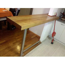 Remodelamos Tu Cocina ® Desayunador Mad. Laqueada Acer Inox.