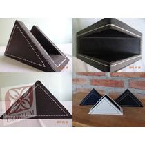 Servilletero Triangular Eco Cuero