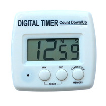 Timer Digital De Cocina De 100 Minutos Económico Con Pila